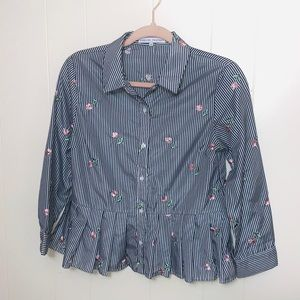 English Factory Floral Blouse